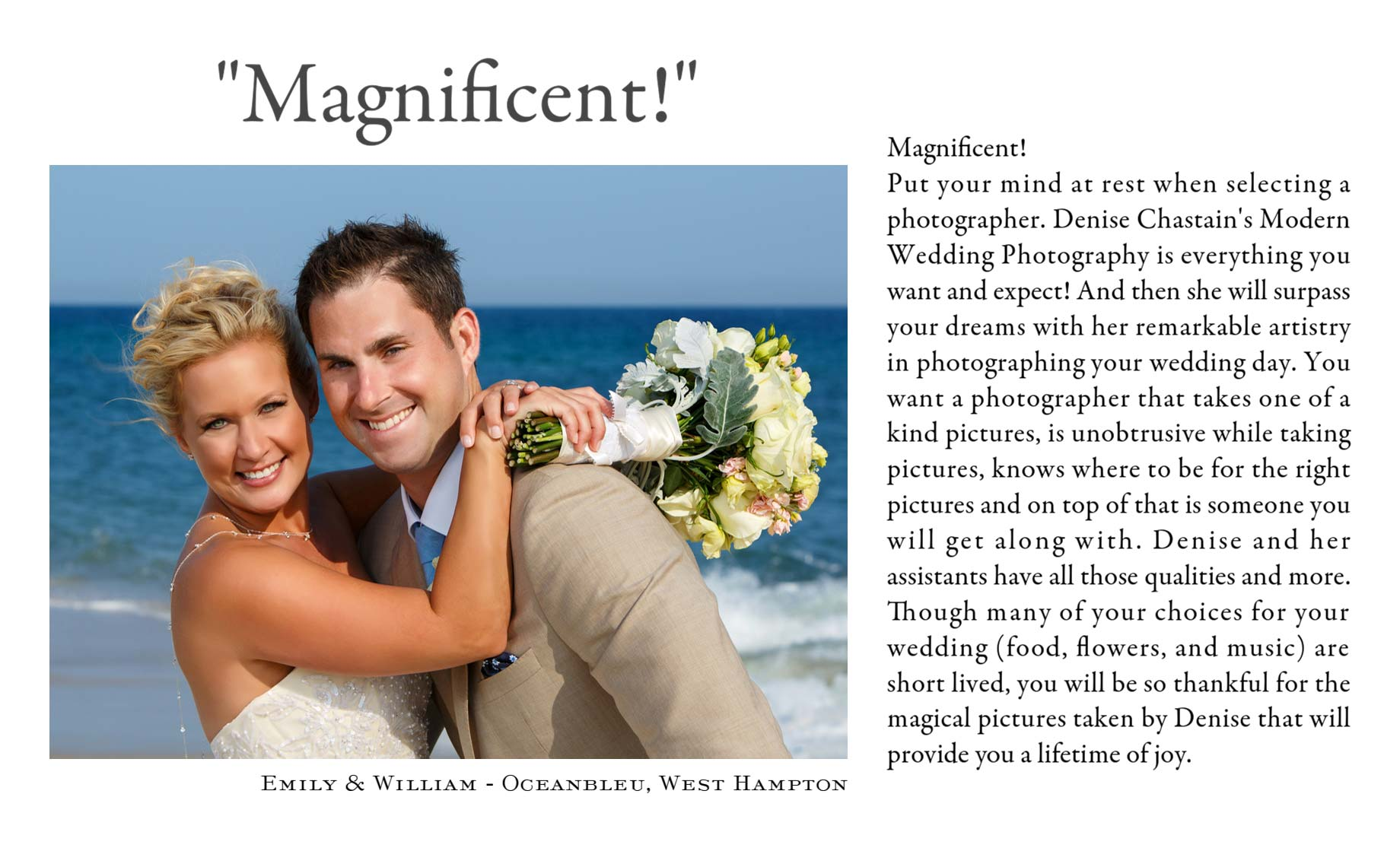 Long Island Wedding Photographer Reviews