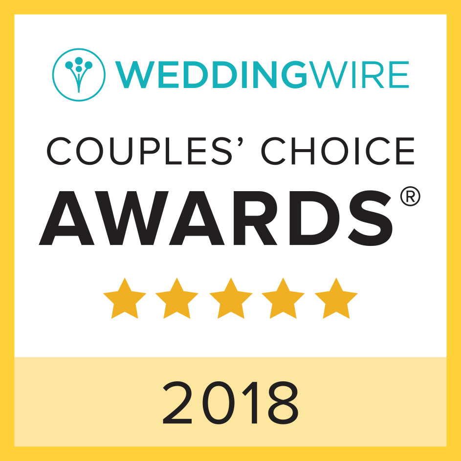 WeddingWireCouplessChoiceAwards2018winner